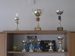 sportovní trofeje minulosti