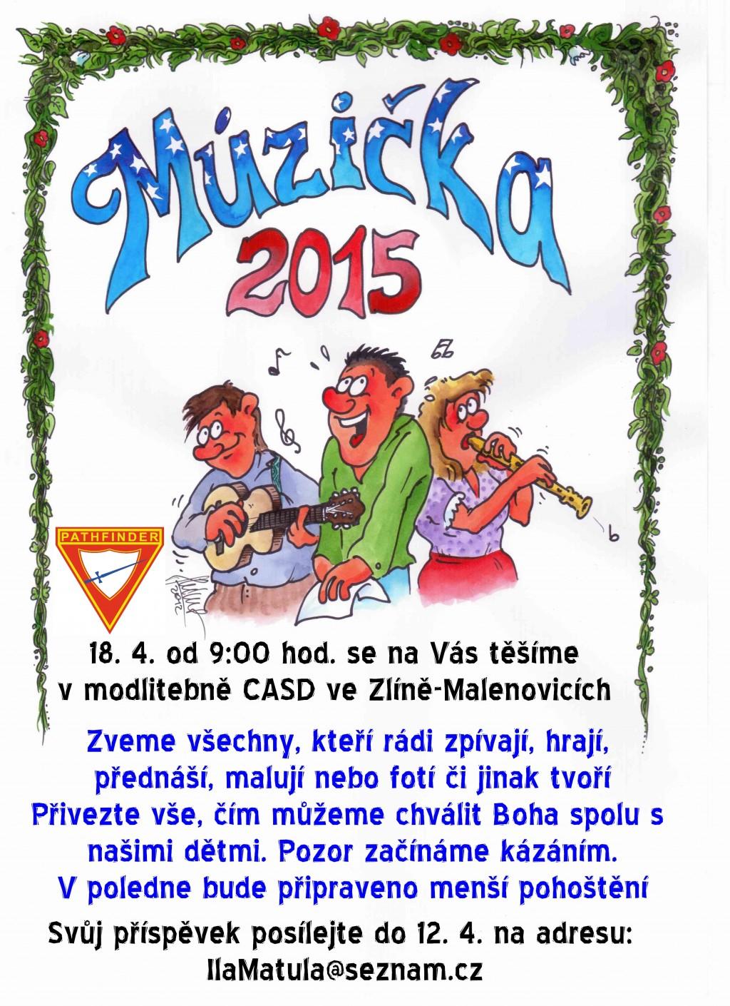 Múzička 2015 pozvánka