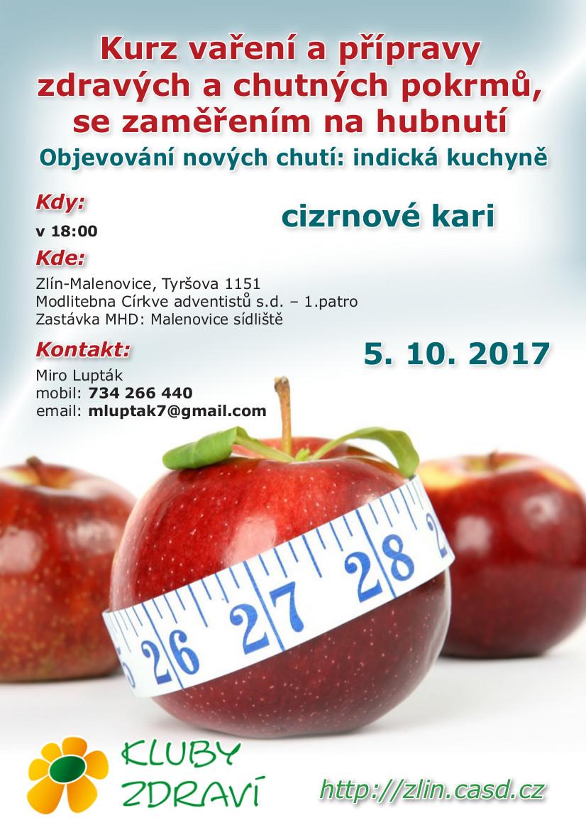 Klub Zdraví @ Modlitebna církve adventistů sedmého dne Zlín - 1.patro | Zlín | Zlínský kraj | Česko